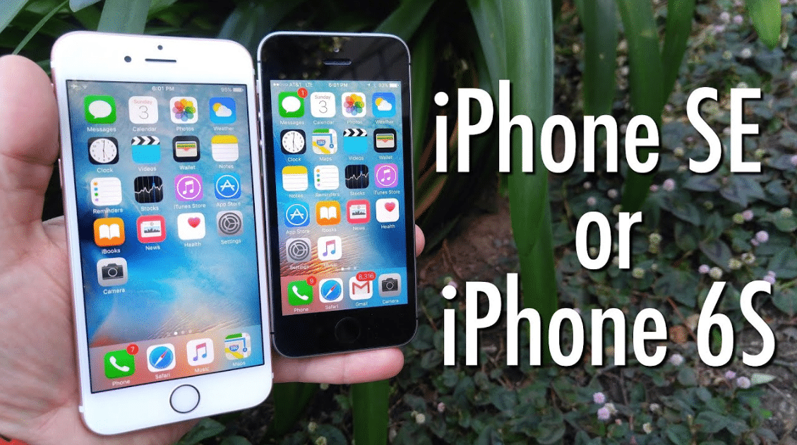 Compare Apple Iphone 6S Vs Apple Iphone Se