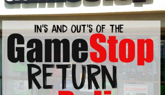 Gamestop Returns And Refund Policies