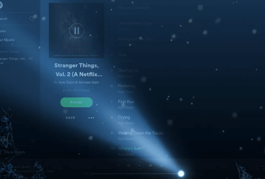 What Is Stranger Things Mode On Spotify