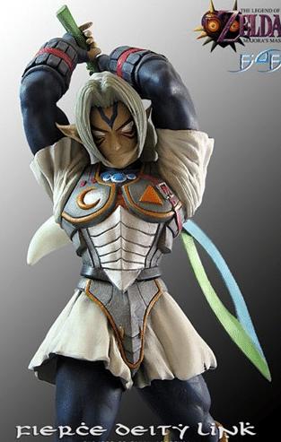 How Tall Is Fierce Deity Link?