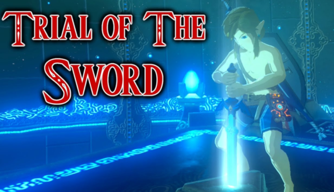 Zelda Botw Trial Of The Sword