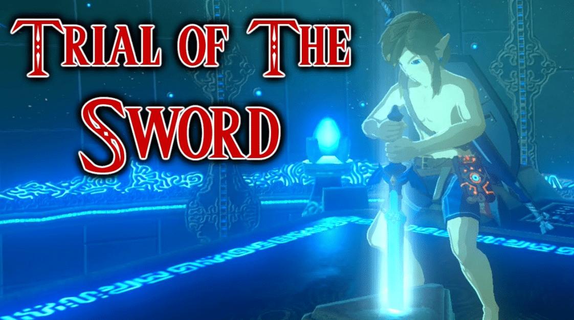 Zelda Botw Trial Of The Sword