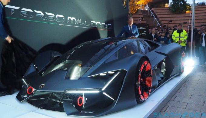 The Lamborghini Terzo Millennio Concept