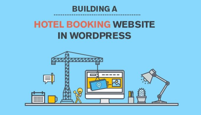 hotel website design WordPress